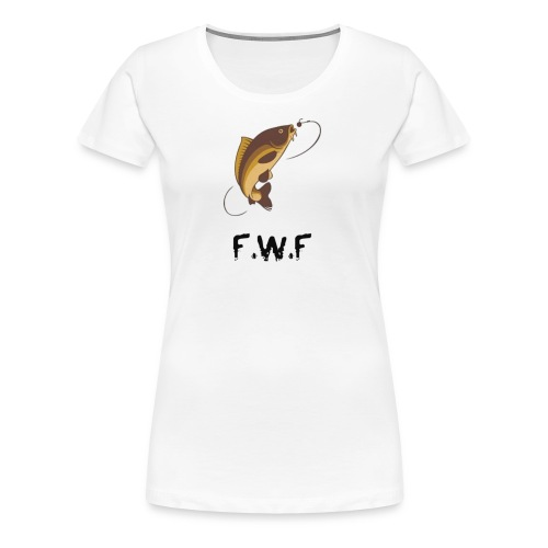 Fishing with Friends Version 2 - Women's Premium T-Shirt