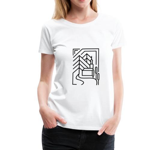 Heimatstadt - Frauen Premium T-Shirt