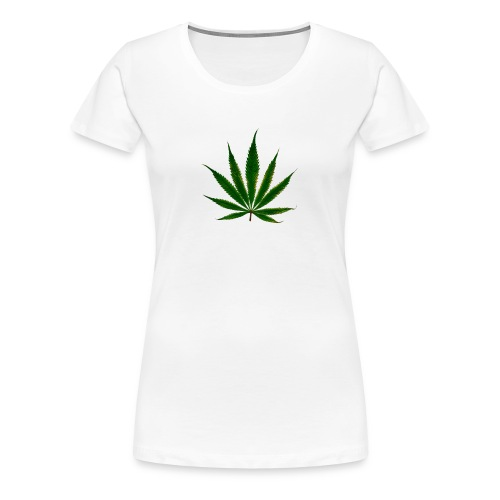 cannabis leaf - T-shirt Premium Femme