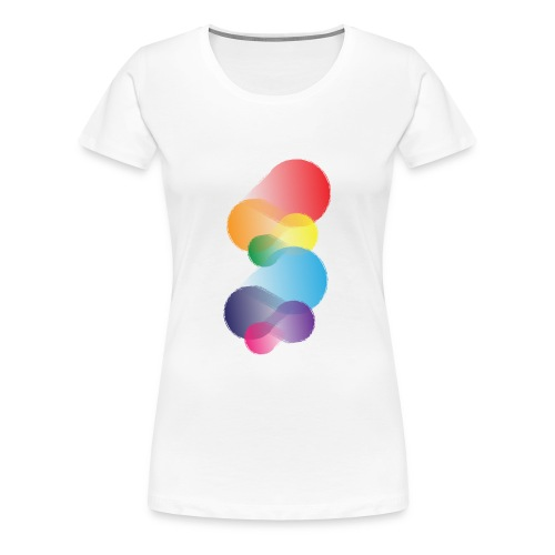 Colourful Abstraction - Women's Premium T-Shirt