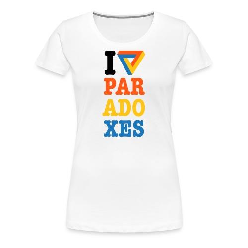 I love paradoxes - Women's Premium T-Shirt