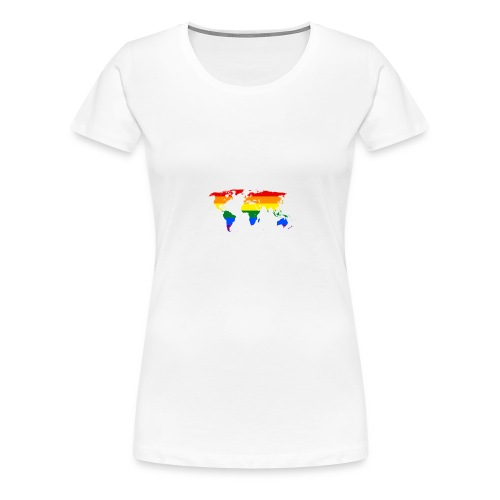 HBTQ WORLD - Premium-T-shirt dam