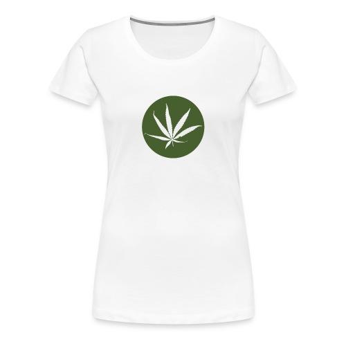weedlogo - Vrouwen Premium T-shirt