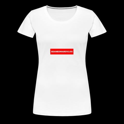 seanedwardvlogs red box style - Women's Premium T-Shirt