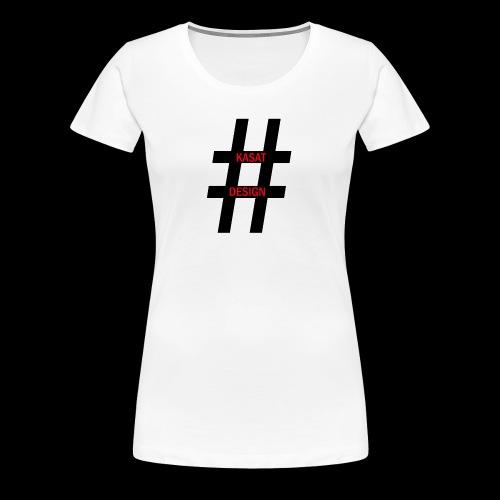 hash - Frauen Premium T-Shirt