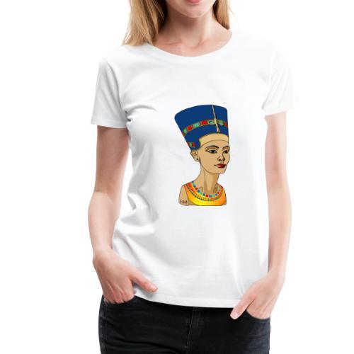 Nofretete - Die Schöne, die da kommt - Frauen Premium T-Shirt