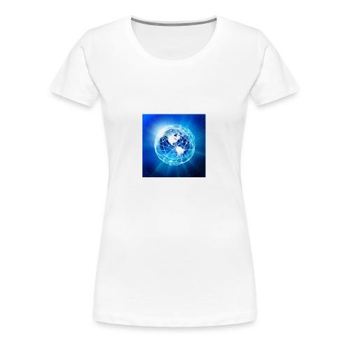 E tshirt - T-shirt Premium Femme