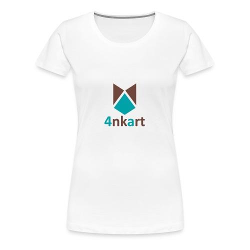 logo 4nkart - T-shirt Premium Femme