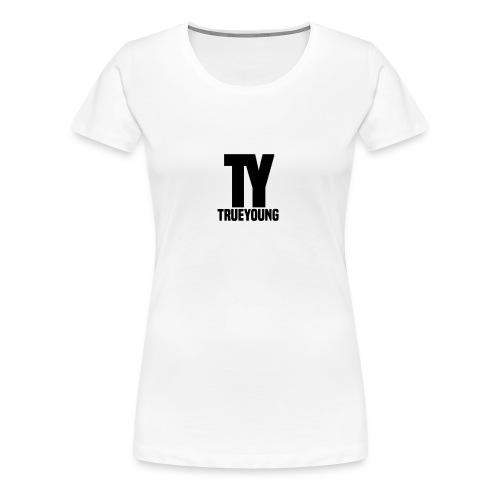 True Young Hoodie Grey | Unisex - Vrouwen Premium T-shirt