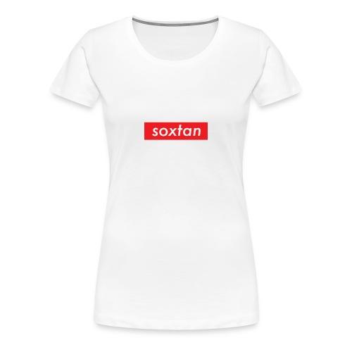 SOXTAN BOX LOGO - Women's Premium T-Shirt
