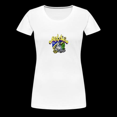 Beldia Gold Tee Shirt - T-shirt Premium Femme