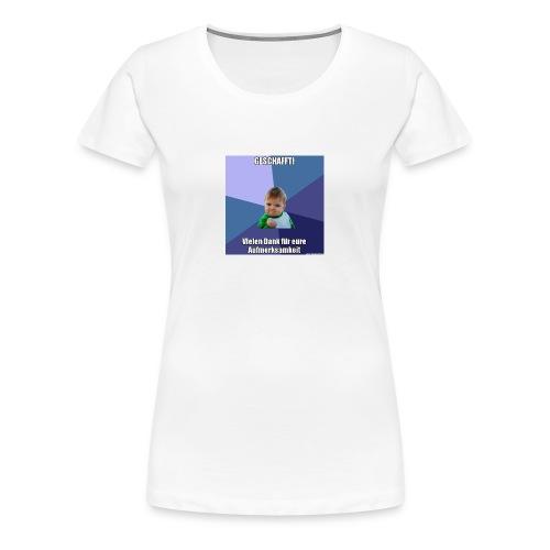 Vortrag - Frauen Premium T-Shirt