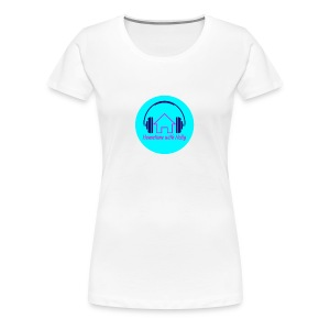 Hometime with holly badge - Women's Premium T-Shirt
