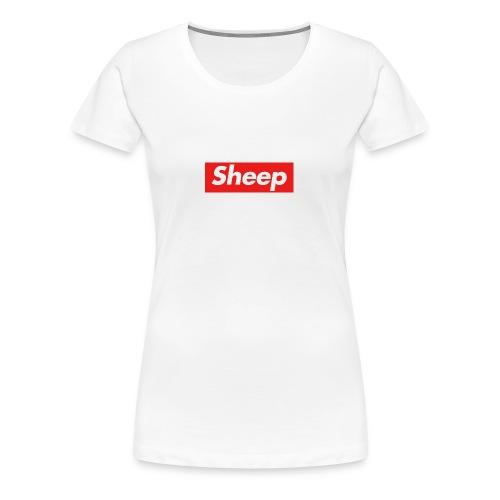 Sheep - Dame premium T-shirt