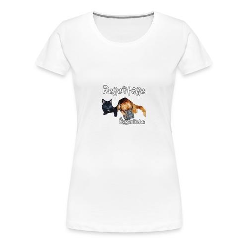 Regentage Boxerliebe - Frauen Premium T-Shirt