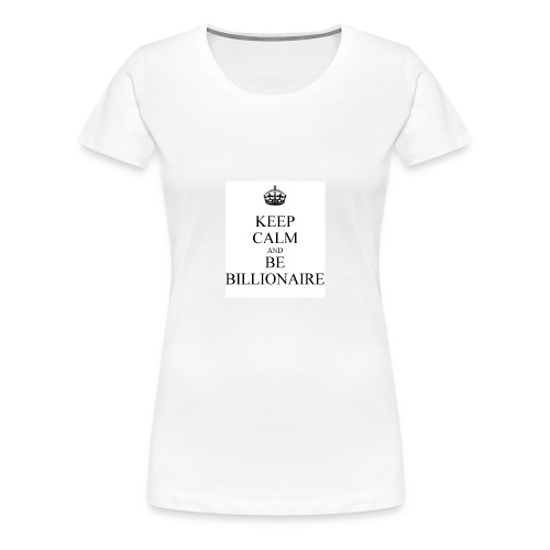 Keep Calm T shirt - Vrouwen Premium T-shirt