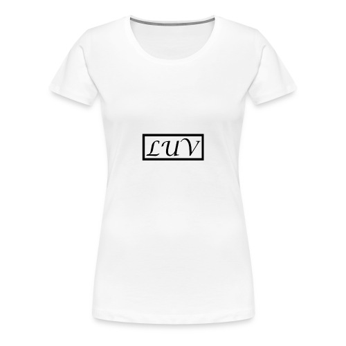 LUV - Women's Premium T-Shirt