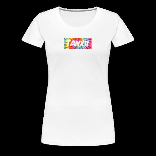 Tye Dye Logo - Women's Premium T-Shirt