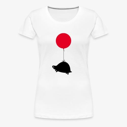 Balloonturtle - Frauen Premium T-Shirt