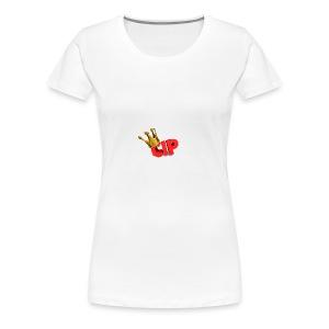 cuzimprebz logo kaffe kopp - Premium T-skjorte for kvinner
