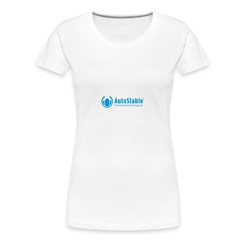 T-Shirt med bra power - Sverige - Premium-T-shirt dam