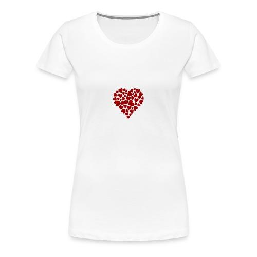 Corazoncitos - Camiseta premium mujer