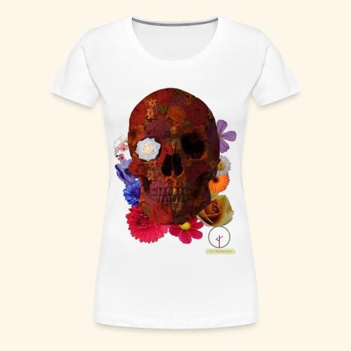 death flowers - T-shirt Premium Femme