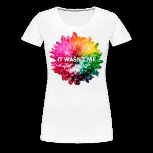 Flower Design - Frauen Premium T-Shirt
