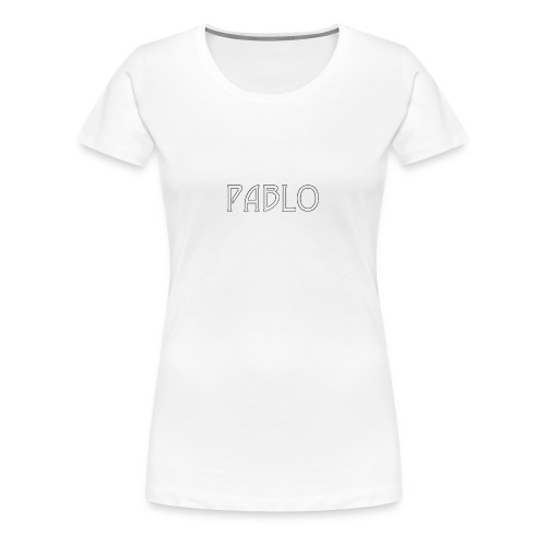 pablo - Dame premium T-shirt