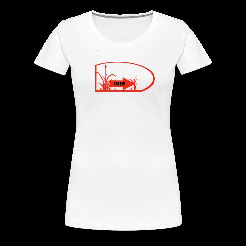 LEAFED :orange: - Frauen Premium T-Shirt