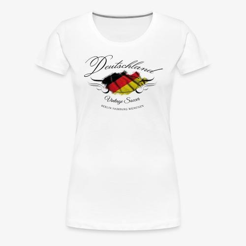 Vintage Deutschland - Frauen Premium T-Shirt