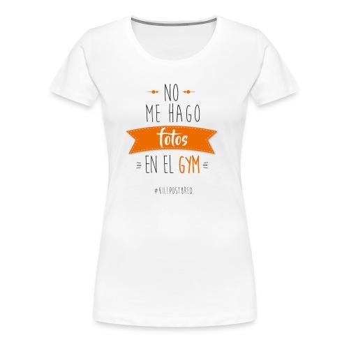 Fotos Gym - Camiseta premium mujer