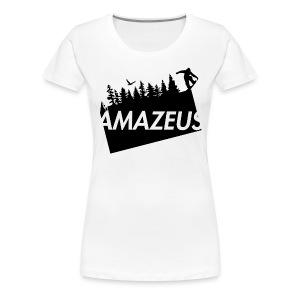 AmaZeus Board - Frauen Premium T-Shirt