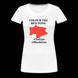 Colour the red Zone - Frauen Premium T-Shirt
