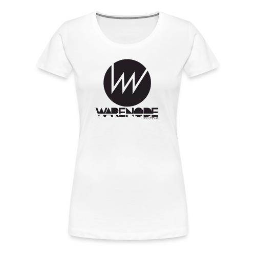 WareNode LOGO - Maglietta Premium da donna