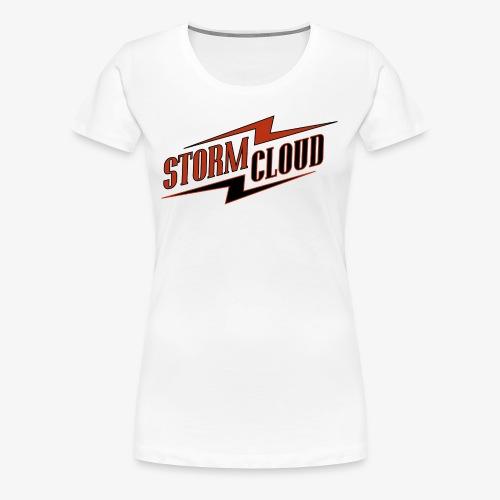 stormcloud logo print - Frauen Premium T-Shirt