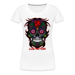 Low Motion Face Gray - Camiseta premium mujer