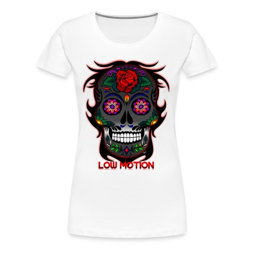 Low Motion Face Gray - Camiseta premium mujer