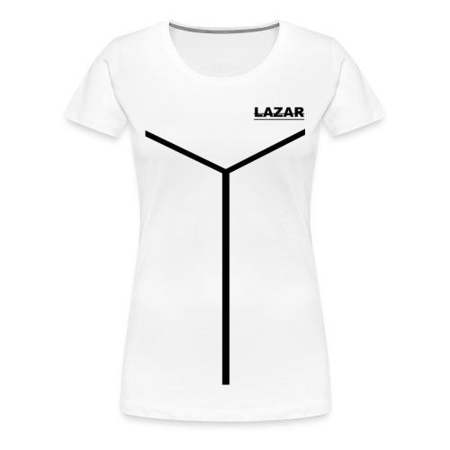 LAZAR - Frauen Premium T-Shirt