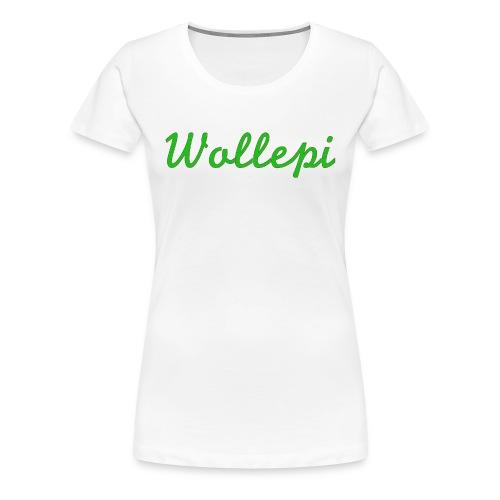 Wollepi - Frauen Premium T-Shirt
