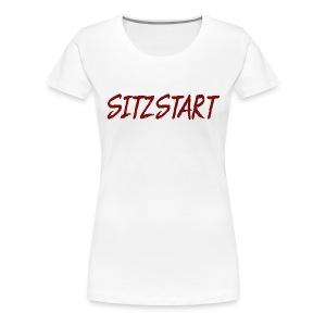 Sitzstart Label - Frauen Premium T-Shirt