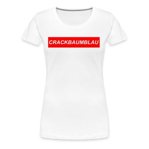 CrackBaumBlau (LOGO) - Frauen Premium T-Shirt