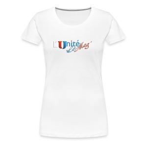 L´Unité le Mag - T-shirt Premium Femme