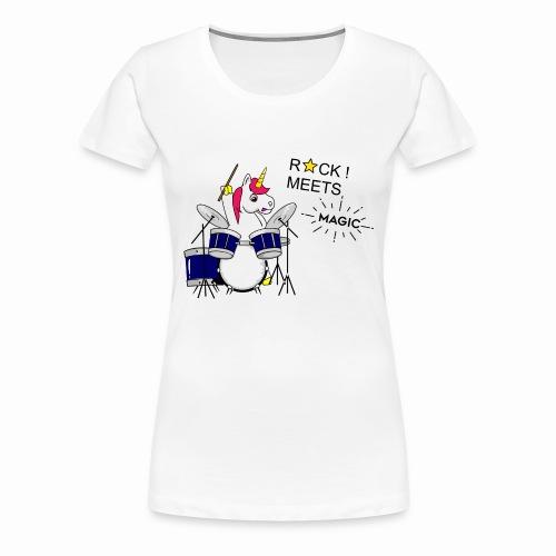 Einhorn Design - Frauen Premium T-Shirt