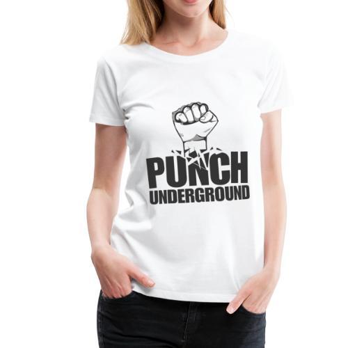 Punch Underground Black - Frauen Premium T-Shirt