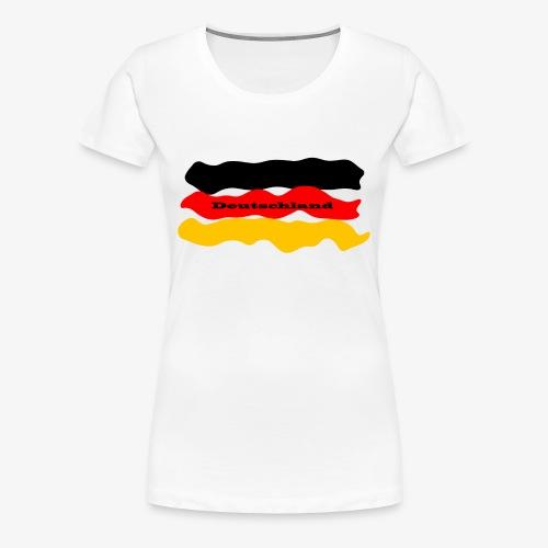 2018 Deutschland - Frauen Premium T-Shirt
