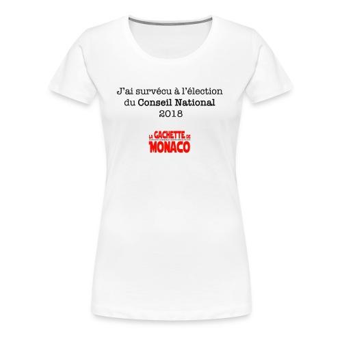 Survive 2018 - T-shirt Premium Femme