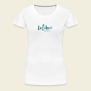 Logo Kolibri Design - Frauen Premium T-Shirt