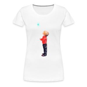 The Boy and the Blue - Women's Premium T-Shirt