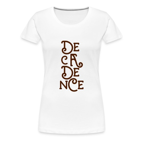 Club Decadence - Athens Greece - Women's Premium T-Shirt